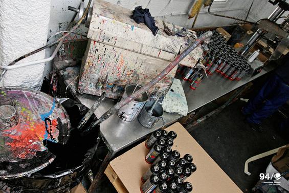 завод граффити Montana Colors