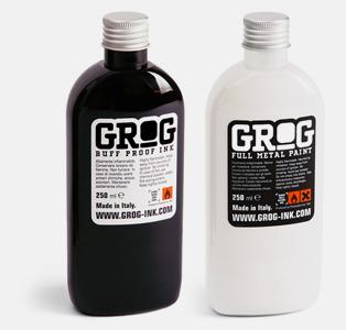 граффити чернила для заправки маркеров grog ink